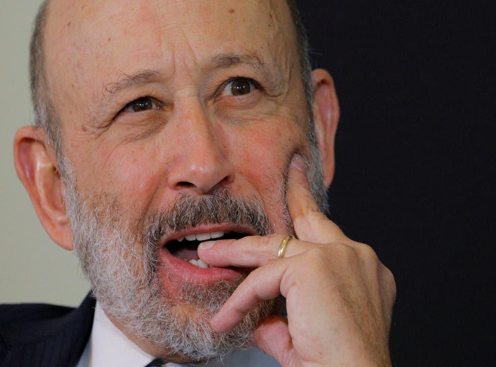 Blankfein led the bank through the financial crisis