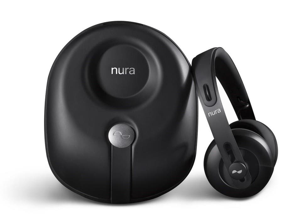 7b000e4e22d Inside the Nuraphone earpiece is a microphone which measures the reply  sound in order to work
