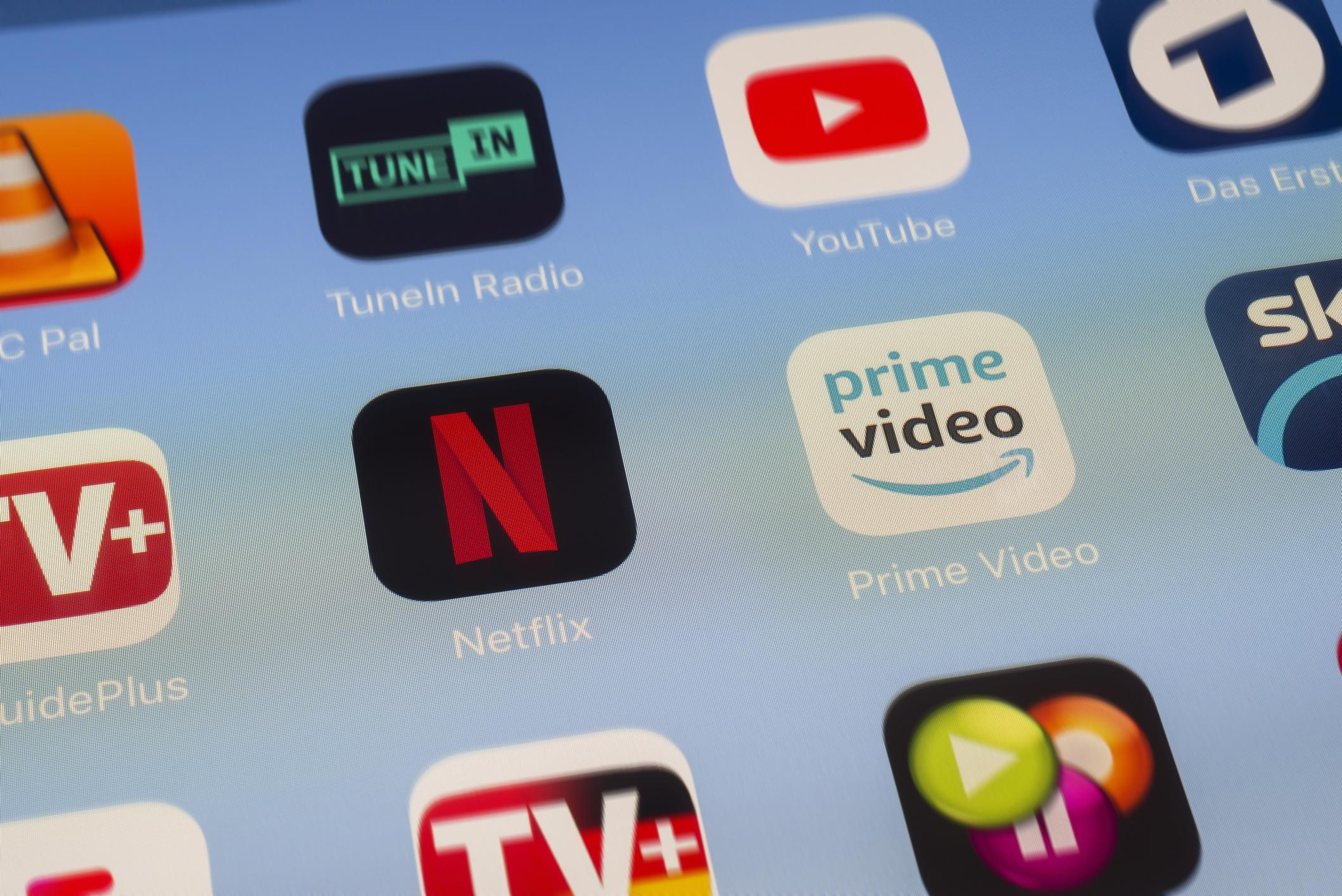 Netflix and Amazon Prime streaming overtakes satellite and