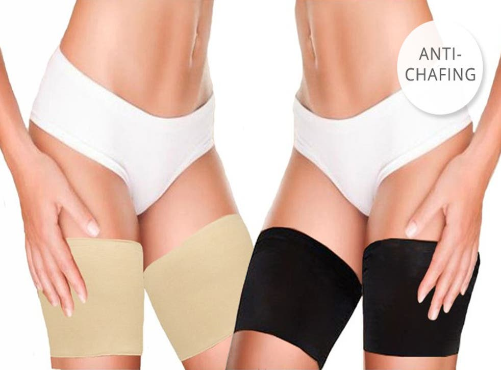Anti-chafing bands are proving very popular during the UK heatwave