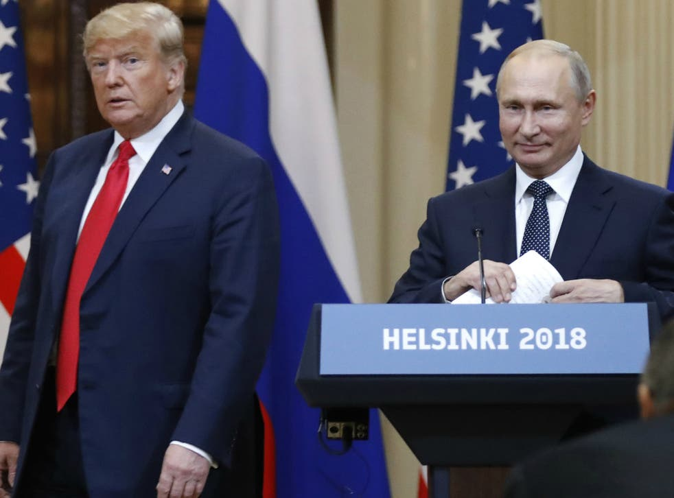 US President Donald Trump and Russian President Vladimir Putin reportedly reached a joint security agreement while in Helsinki, Finland, on 16 July 2018.
