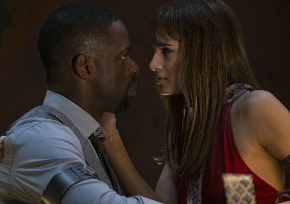 Waikiki Sterling K Brown Gets Up Close And Personal With Glamorous Assassin Nice