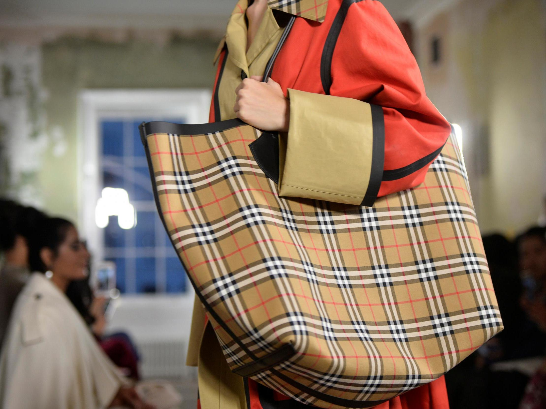9e229c16496f6e Burberry burns £28.6m of clothes and cosmetics 'to protect its brand' | The  Independent