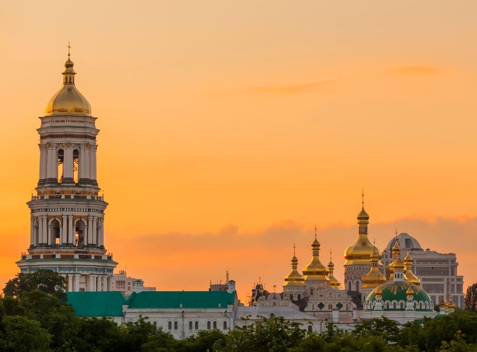 The Pechersk Lavra Monastery in Kiev