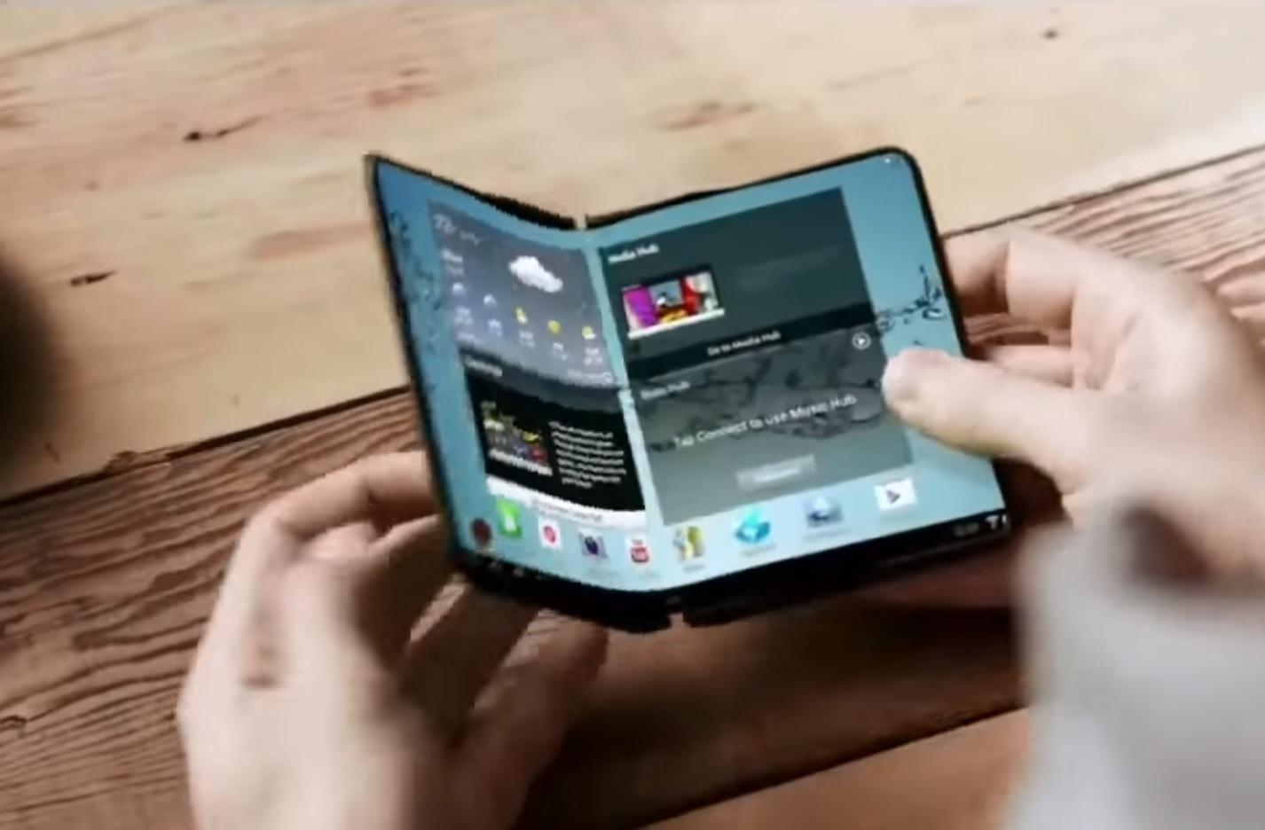 Samsung Folding Smartphone Rumour States 2019 Release Date, 5 Years After Teaser Video