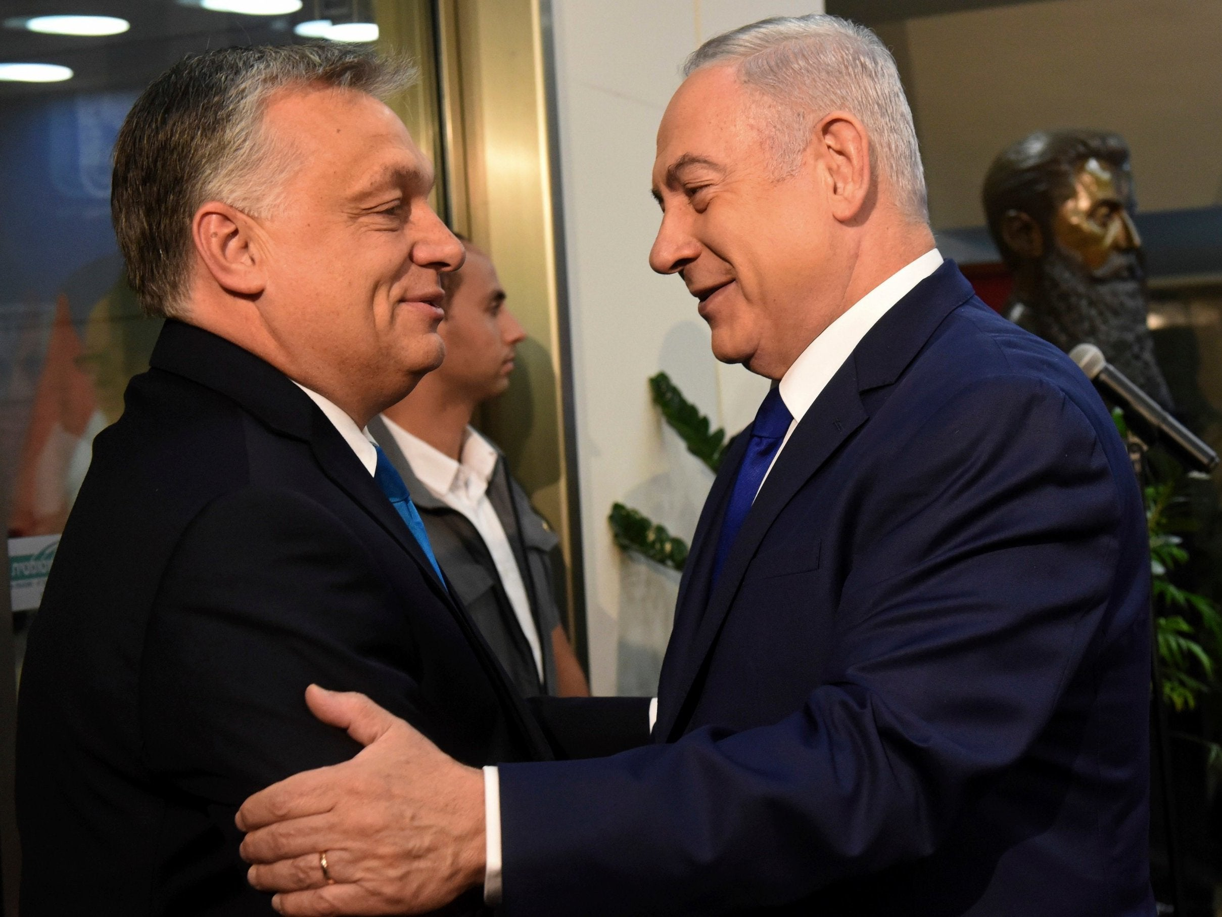 Orban und Netanjahu