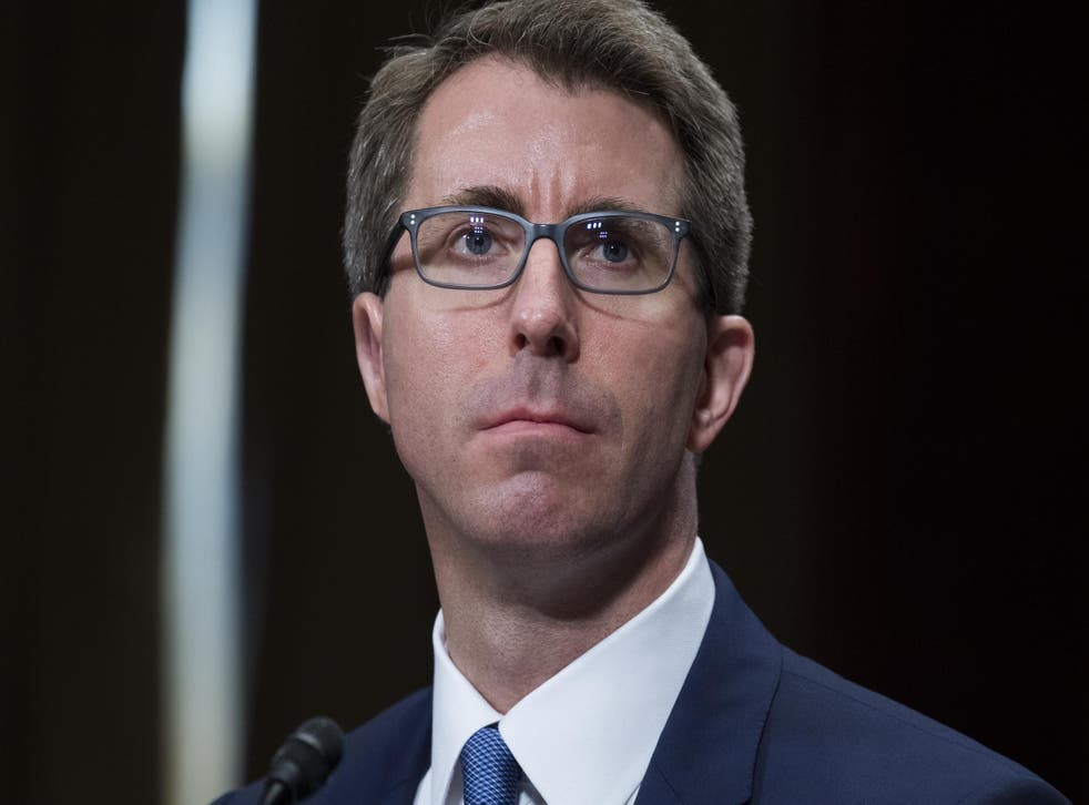 Ryan Wesley Bounds, nominee for United States Circuit Judge for the Ninth Circuit, testifies during his Senate Judiciary Committee confirmation hearing