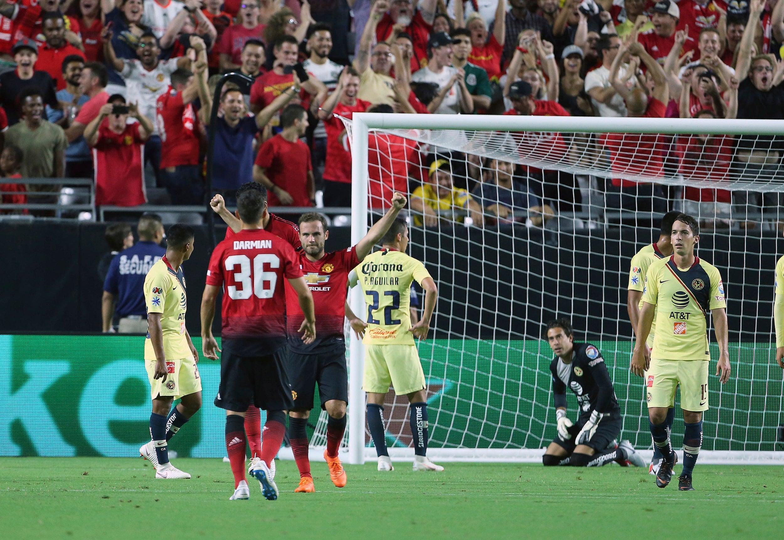 Juan mata saves manchester united from opening us pre season tour mata stopboris Image collections