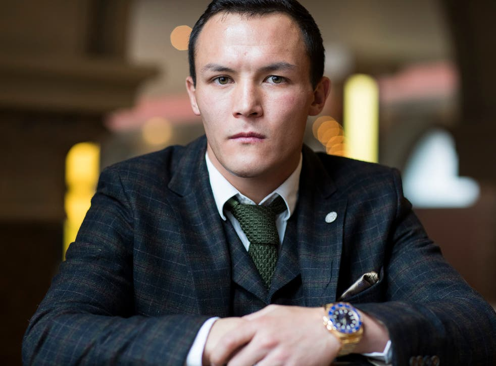 The IBF featherweight world champion spoke to The Independent