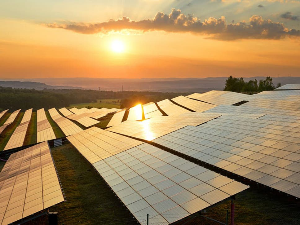 Sunrise kingdom: at midday on 30 June, solar power supplied 30 per cent of the UK's electricity