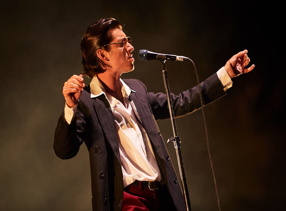 Alex Turner led Sheffield's finest the Arctic Monkeys through a mammoth two-hour set