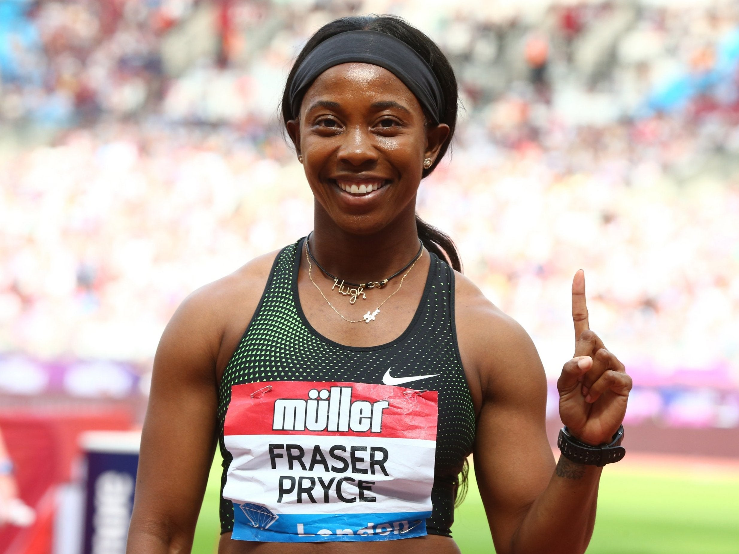 Anniversary Games 2018: New mum Shelly-Ann Fraser-Pryce back under 11 seconds to win 100m
