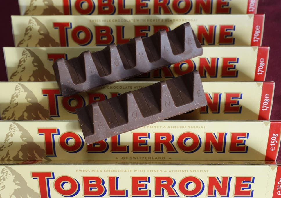 Toblerone Going Back To Original Shape The Independent