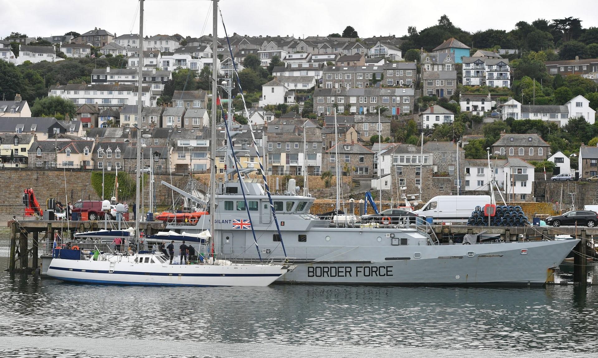 Cornwall cocaine seizure: Two men charged in connection with huge drugs haul from yacht