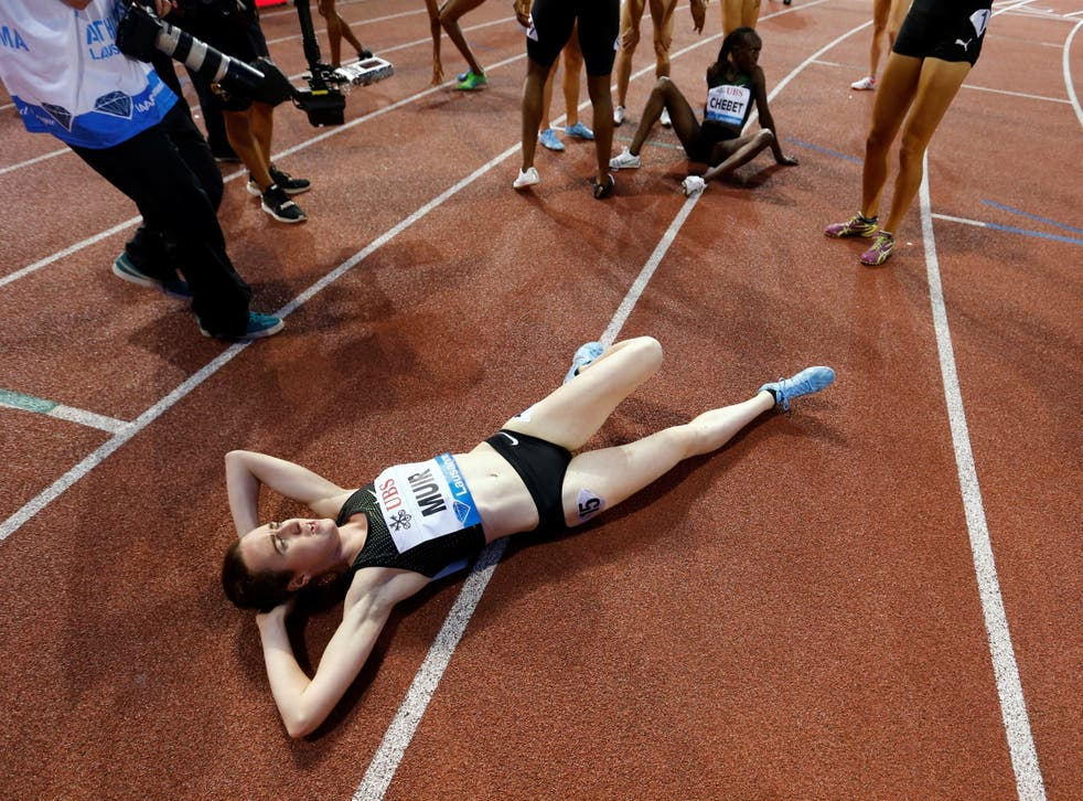 Laura Muir was chasing the British record set in 1985