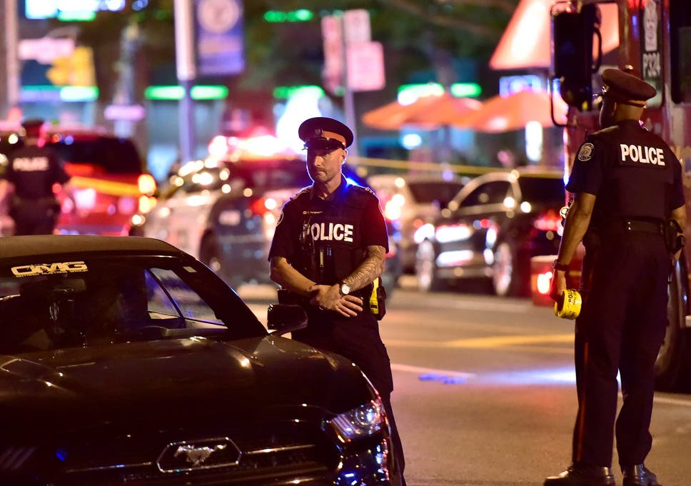 Many shot dead before Toronto Restaurant at Canada