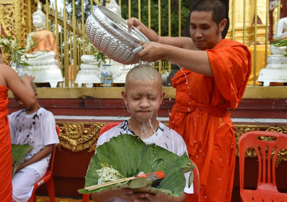 Rescued Thailand Kids now at Buddhist Monastery for Mental peace