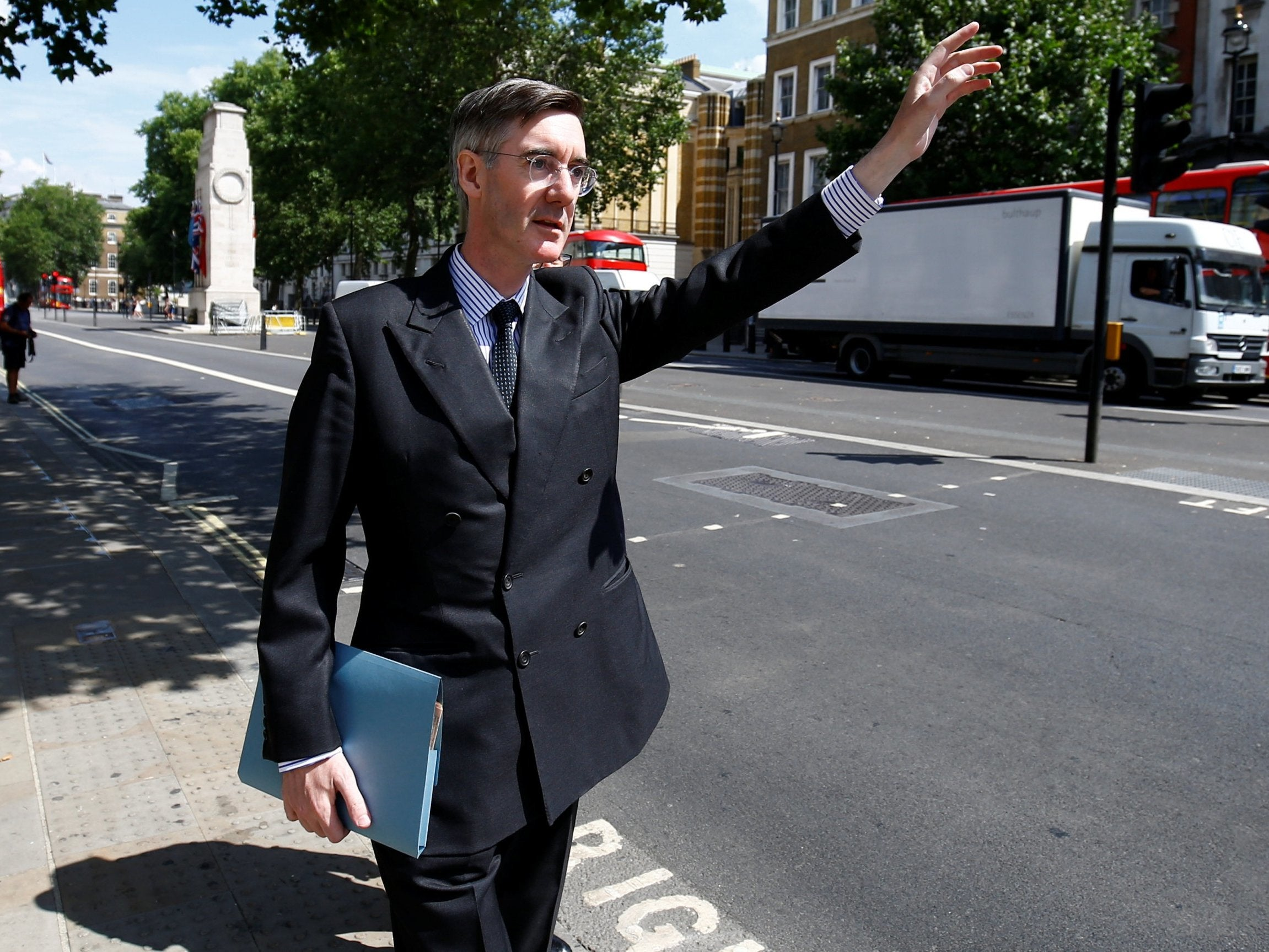 Jacob Rees-Mogg warns Theresa May per chance well fair Brexiteers will block her plans unless they're changed thumbnail