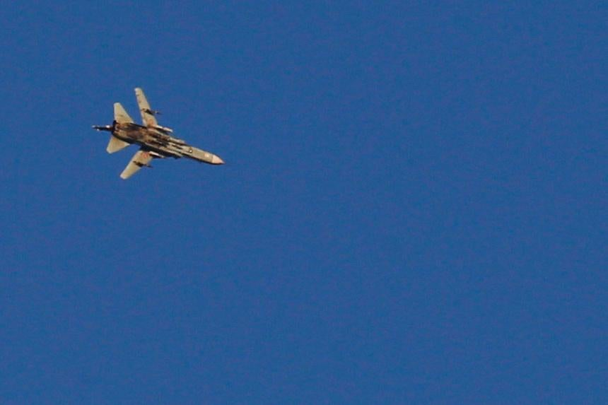 Israel shoots down Syrian fighter jet in its airspace, military says