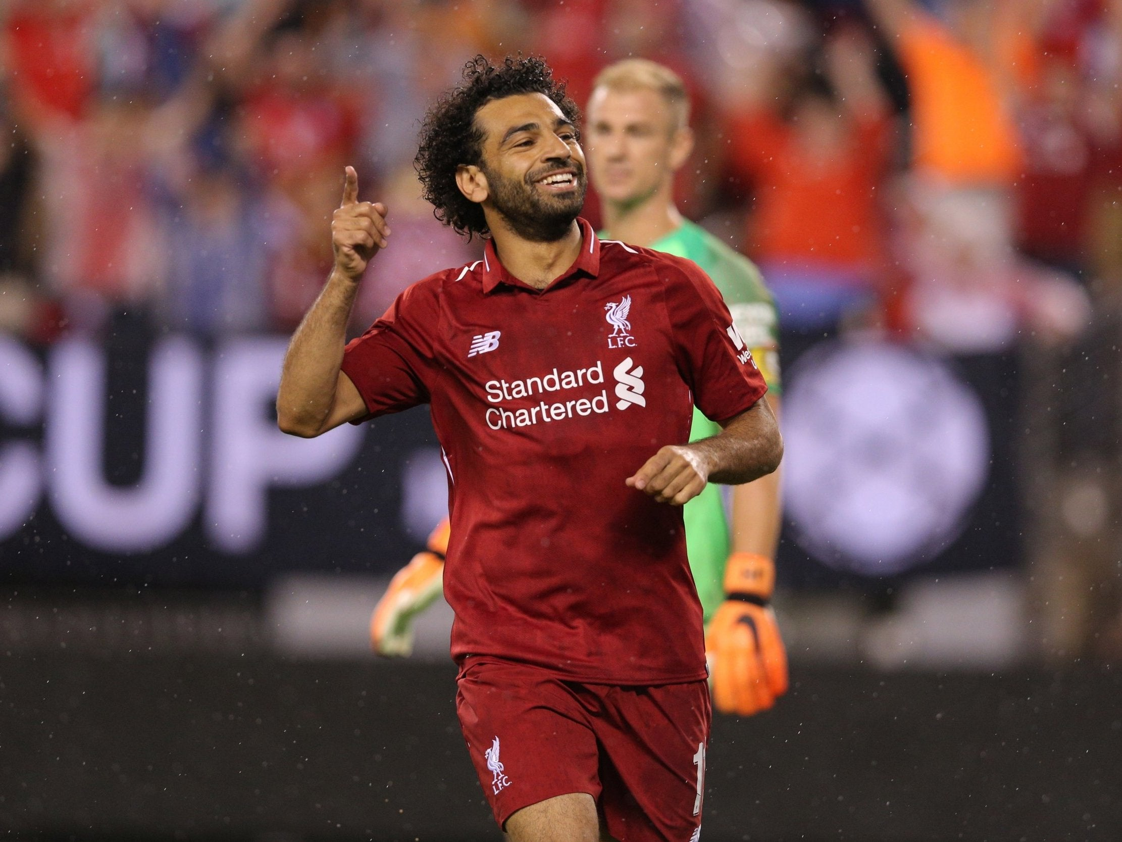 Mohamed Salah up and running in just 35 seconds to dispel any injury fears as Liverpool beat Manchester City