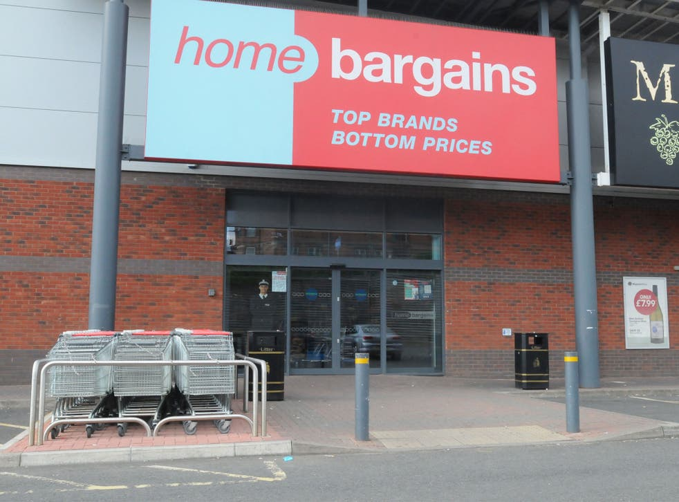 The child was attacked at a Home Bargains store in the Tallow Hill area of Worcester