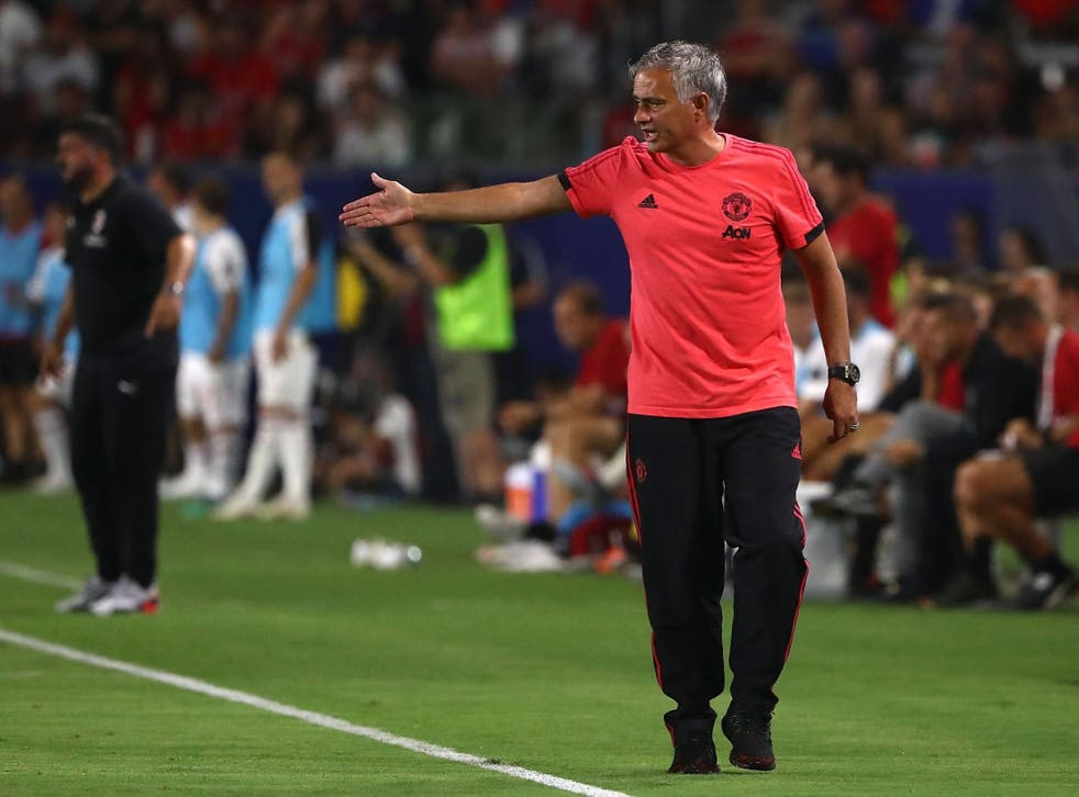 Mourinho admitted the pressure was on Liverpool