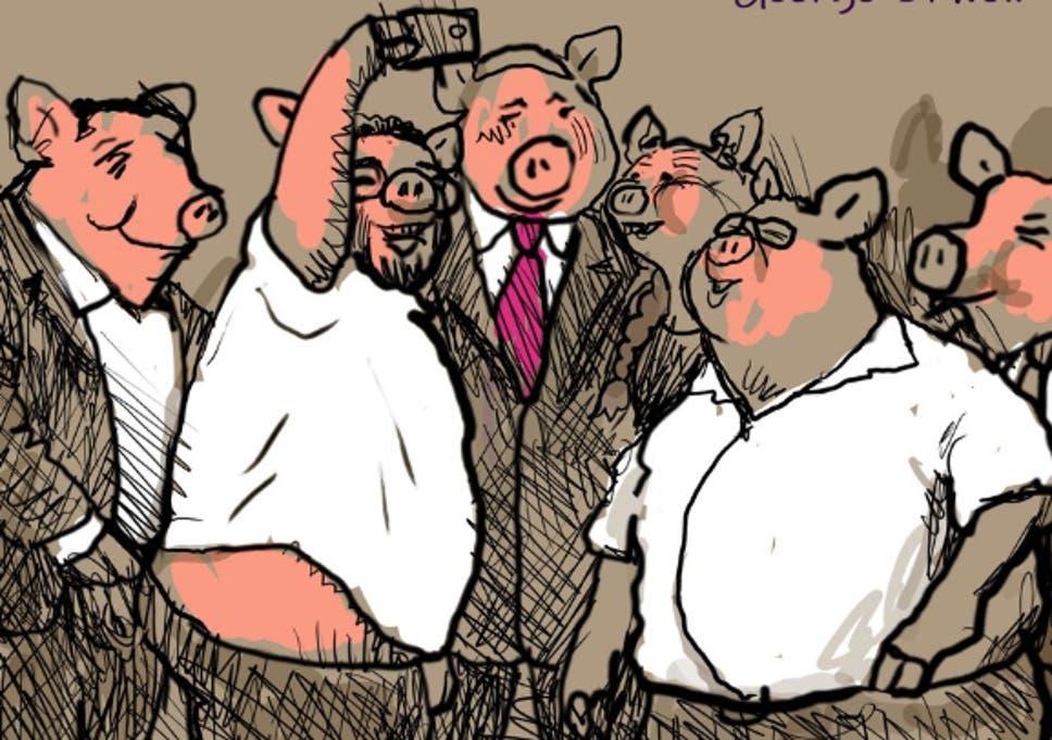 Israeli Paper Fires Cartoonist Over Orwell Cartoon Criticising New