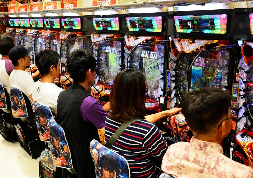 Japan's pinball gambling industry makes 30 times more cash