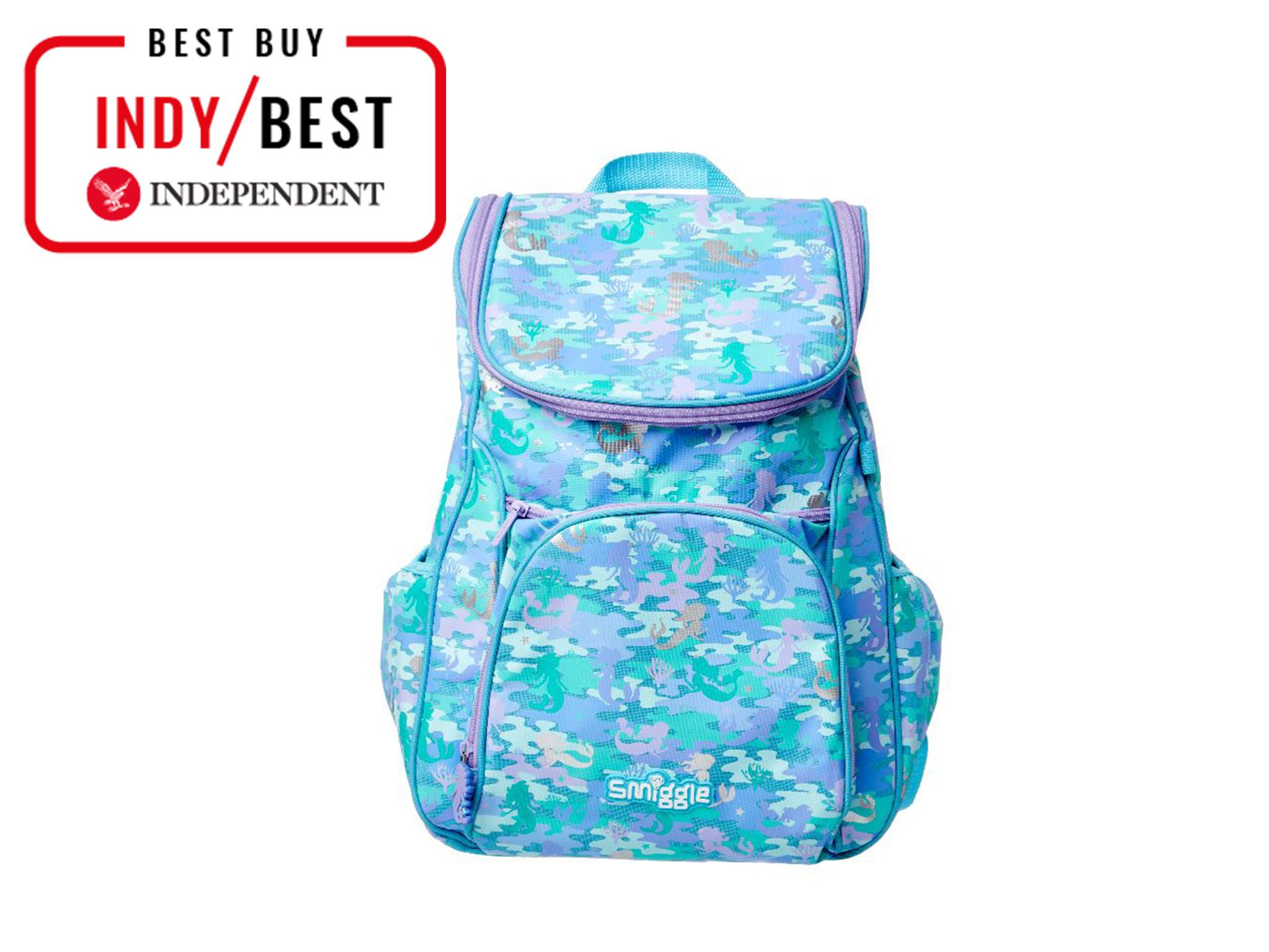 113aab5b1655 All the testers loved this backpack from Aussie stationery brand Smiggle.  They adored the design