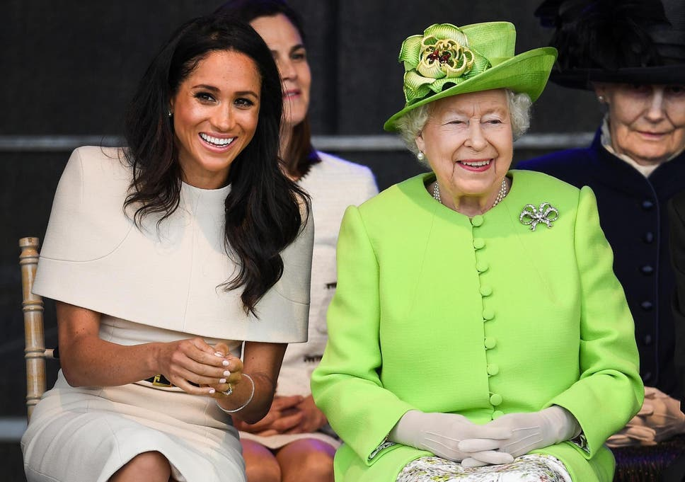 My How Time Flies Queen Elizabeth At 50 >> One Of Meghan Markle S Favourite Foods Is Banned By The Queen In The