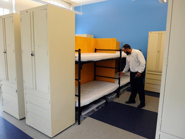 A homeless shelter opened in Washington DC in 2014