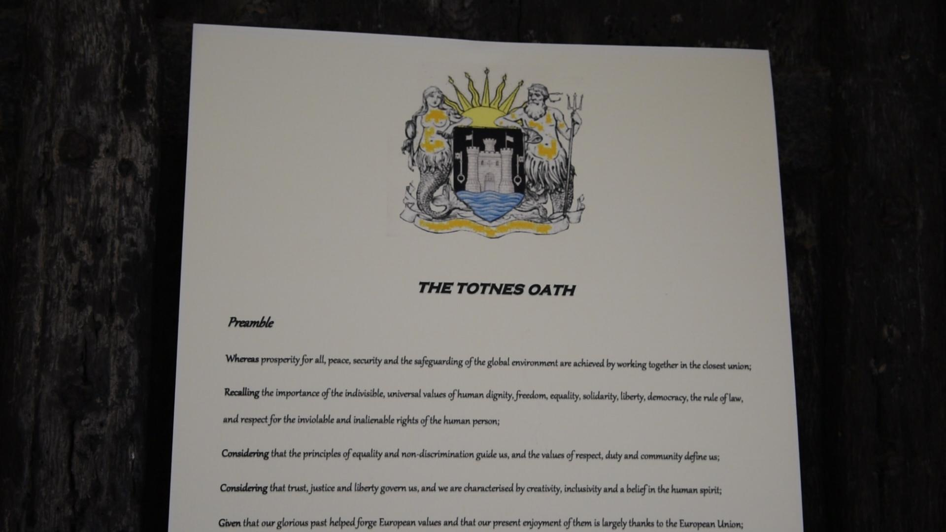 How the 'Independent City State of Totnes' will start the