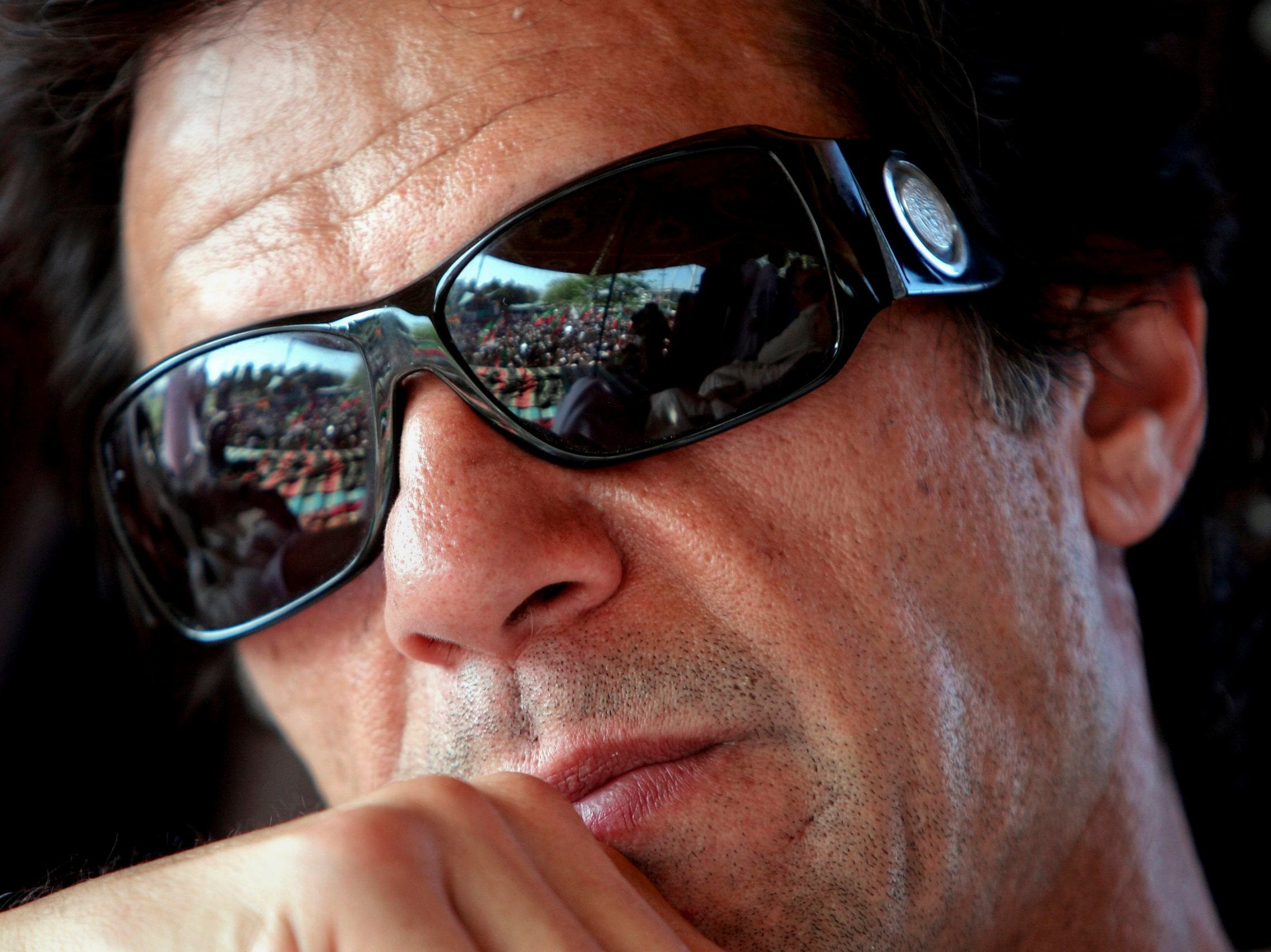 Imran Khan drives Saudi Crown Prince Mohammed bin Salman to PM.