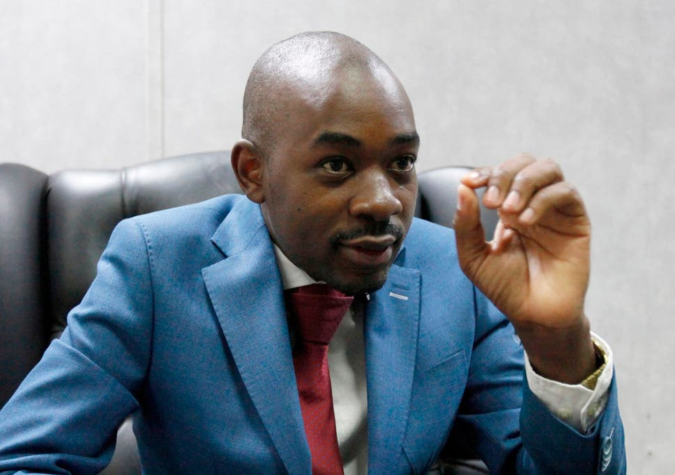 There Is A Perception Among Supporters Of Nelson Chamisa Above That Britain Is Backing