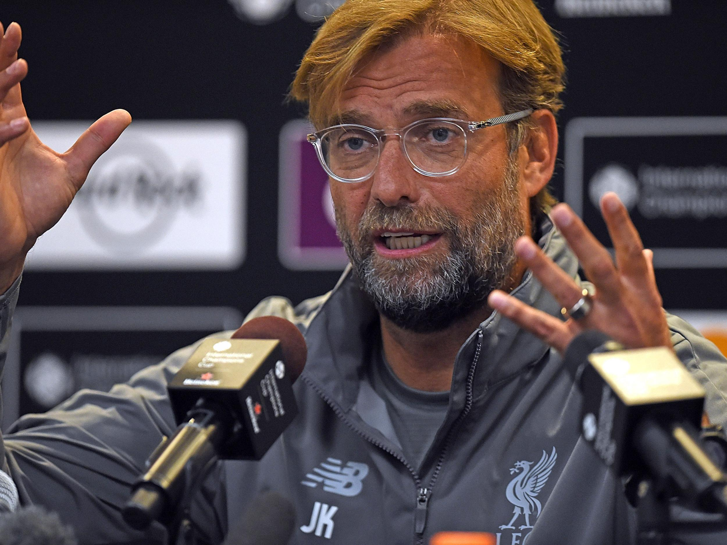 Liverpool manager Jurgen Klopp shrugs off Jose Mourinho's silverware comments