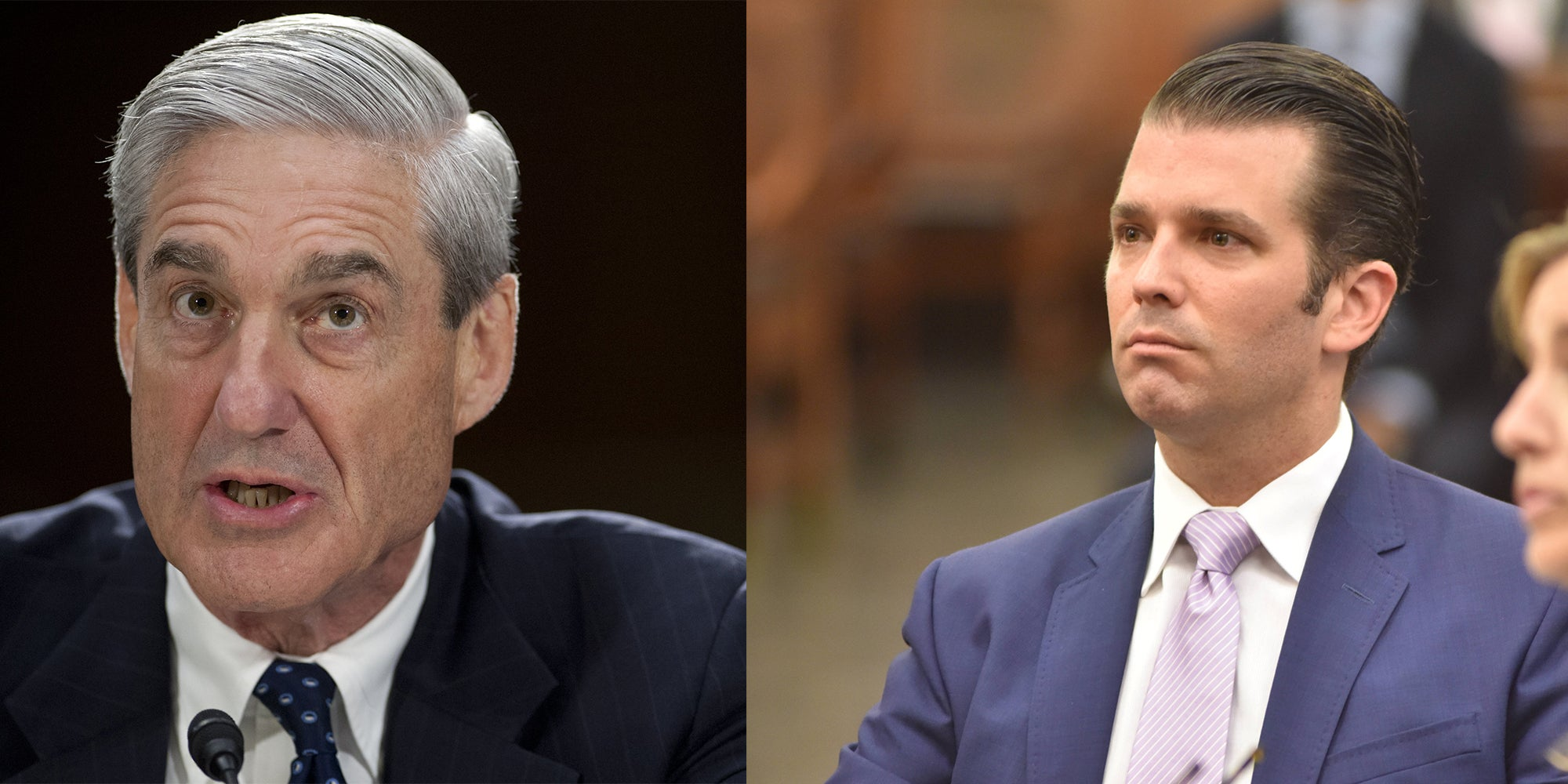 Donald Trump Jr And Robert Mueller Were Spotted At The Airport