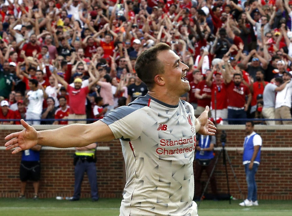 Jurgen Klopp Surprised By Xherdan Shaqiri S Fast Start To Liverpool Life That S Not Normal The Independent The Independent