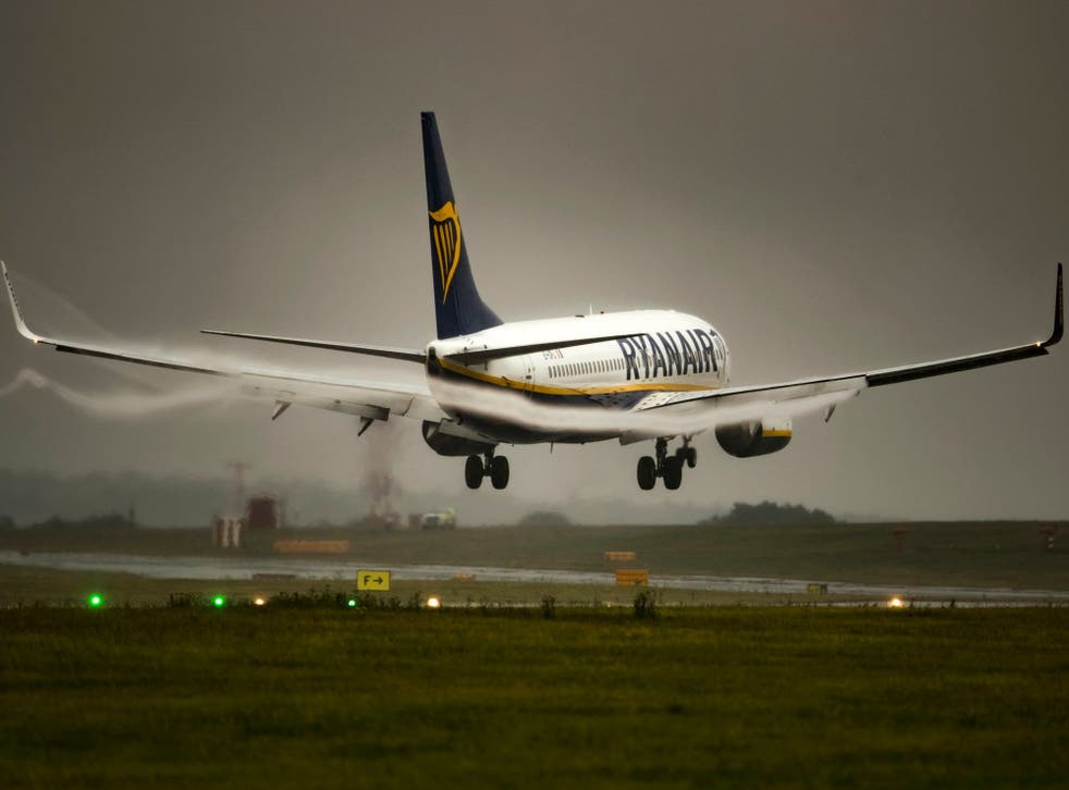 Flight news: Ryanair has sent out messages to thousands of passengers whose flights have been cancelled because of pilots' strikes