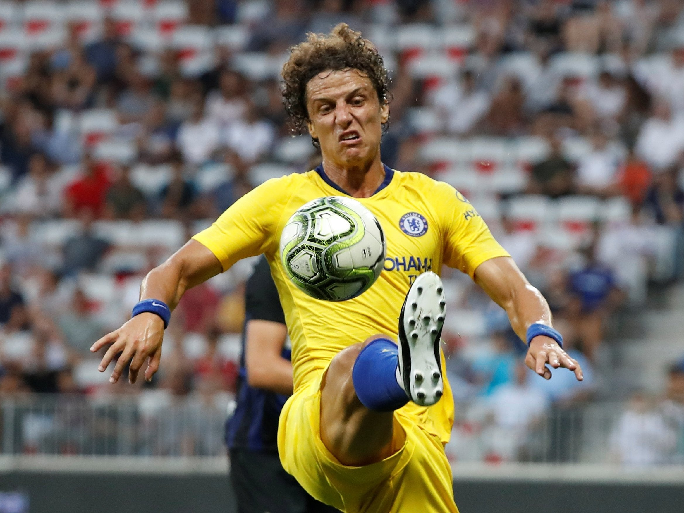 ef8e4c9f0 David Luiz signals his intent to stay at Chelsea after admitting he  loves   Maurizio Sarri s new philosophy