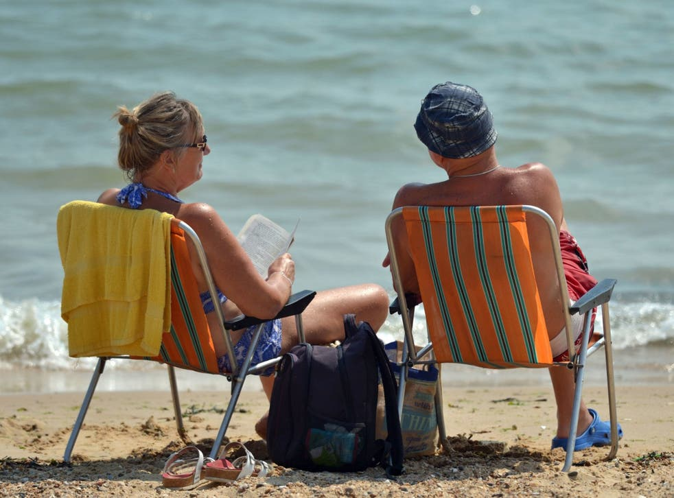 Sit on your deckchair and think about the scientific implications of this lovely weather