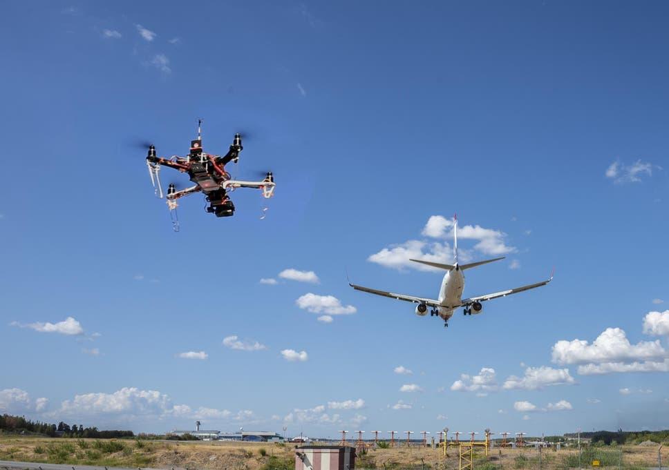 virgin atlantic calls for tougher drone regulations after terrifying