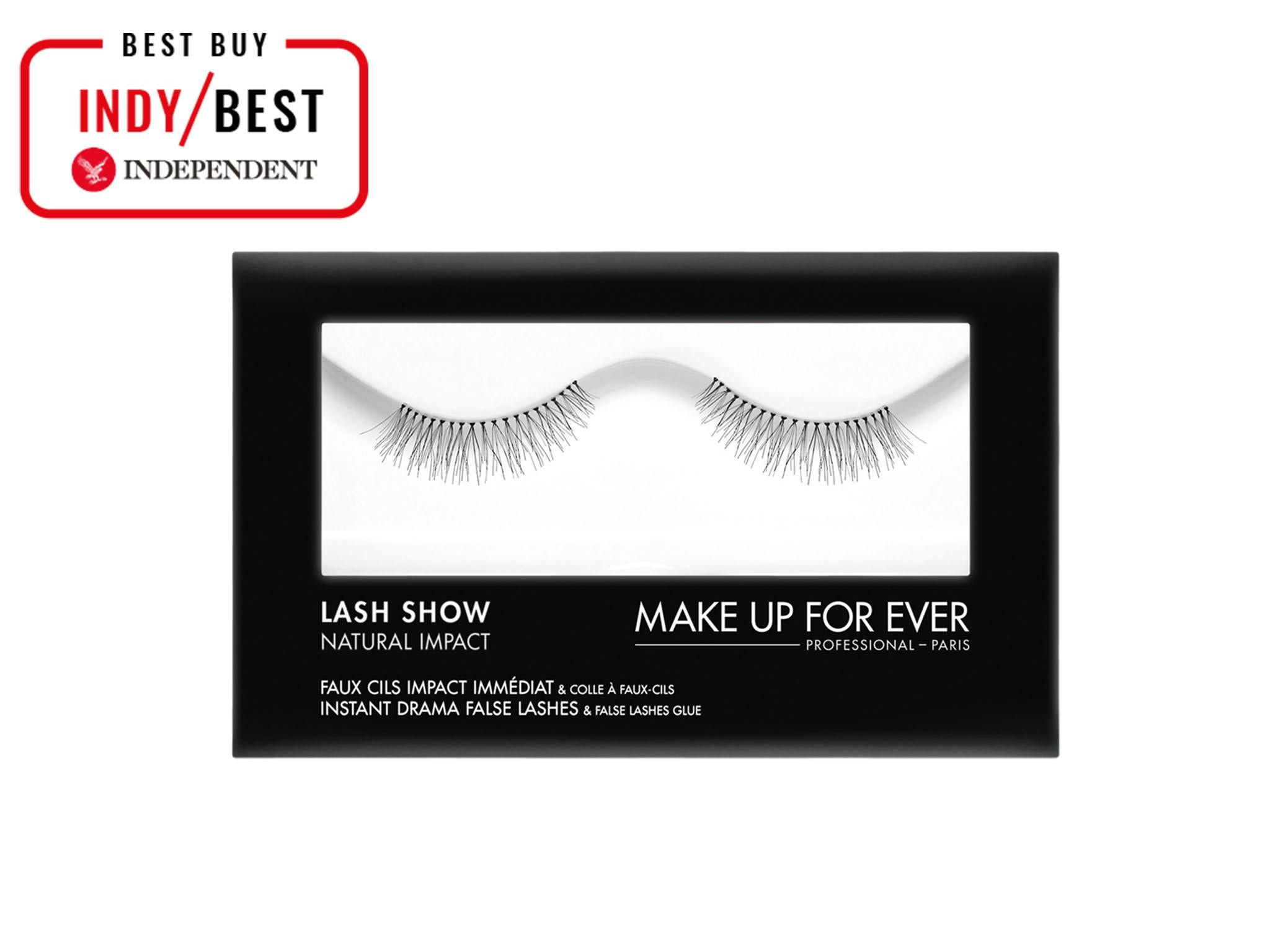 e89b06bf584 Make Up For Ever Lash Show Natural Impact False Lashes N-204: £16, Escentual
