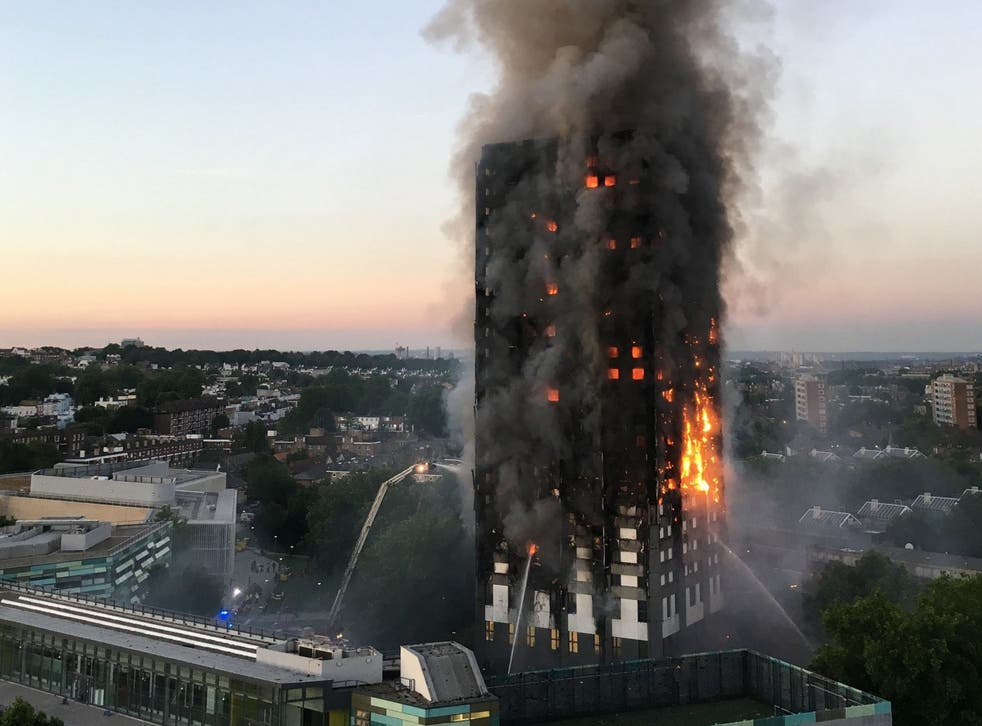 Seventy-two people died in the Grenfell Tower fire