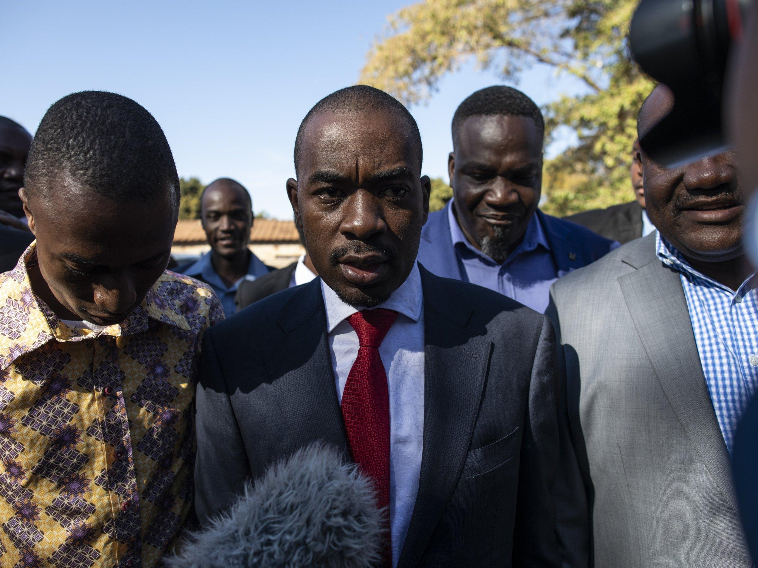 Zimbabwean elections: Who is Nelson Chamisa, the man who could end Zanu-PF's 40-year rule?