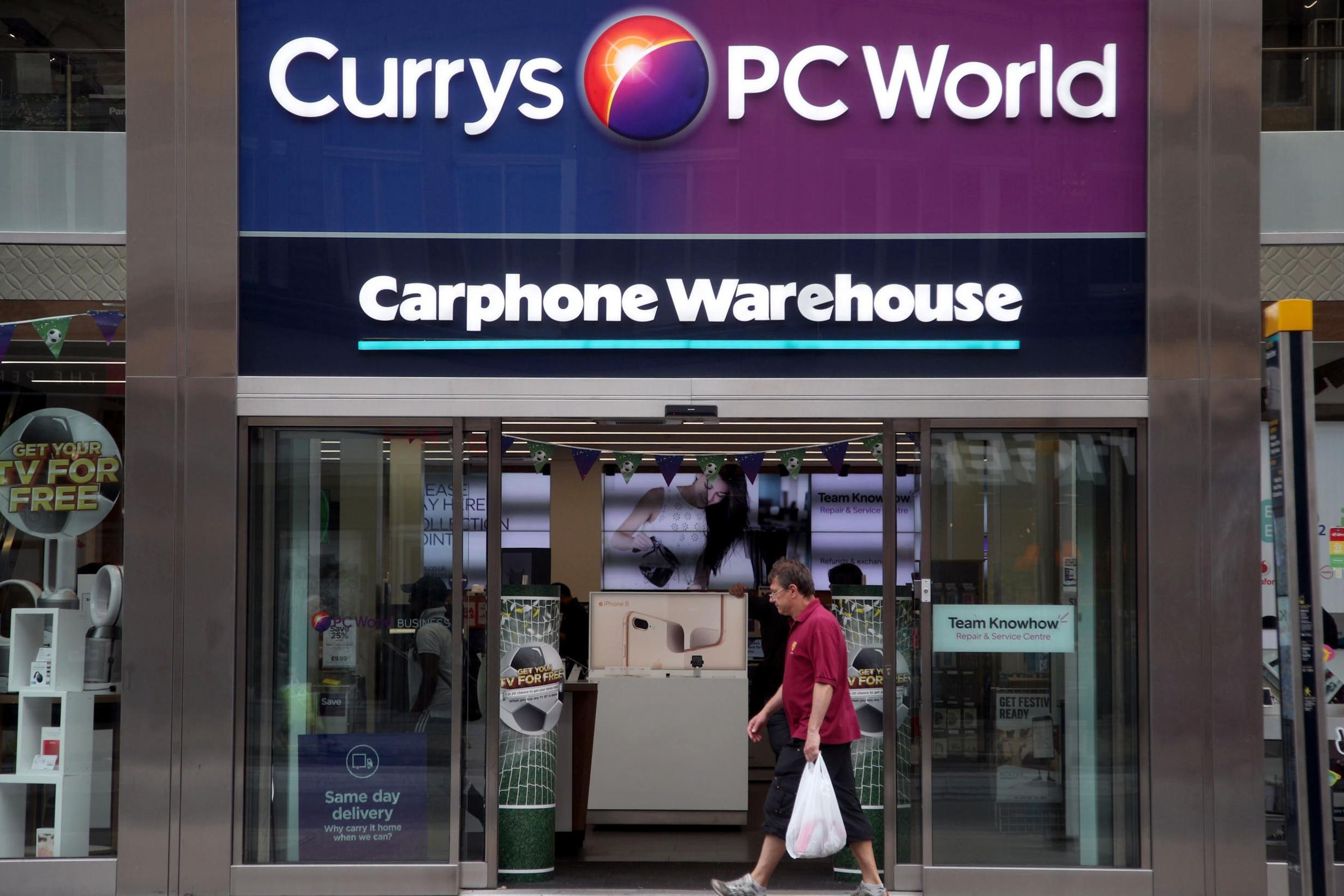 Dixons Carphone shares plummet 25% after revealing large losses at mobile phone shops