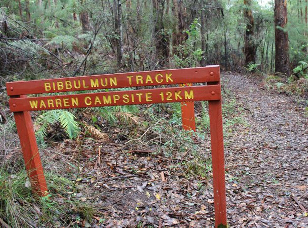 Two hikers were attacked with a shovel on the Bibbulman Track in Western Australia