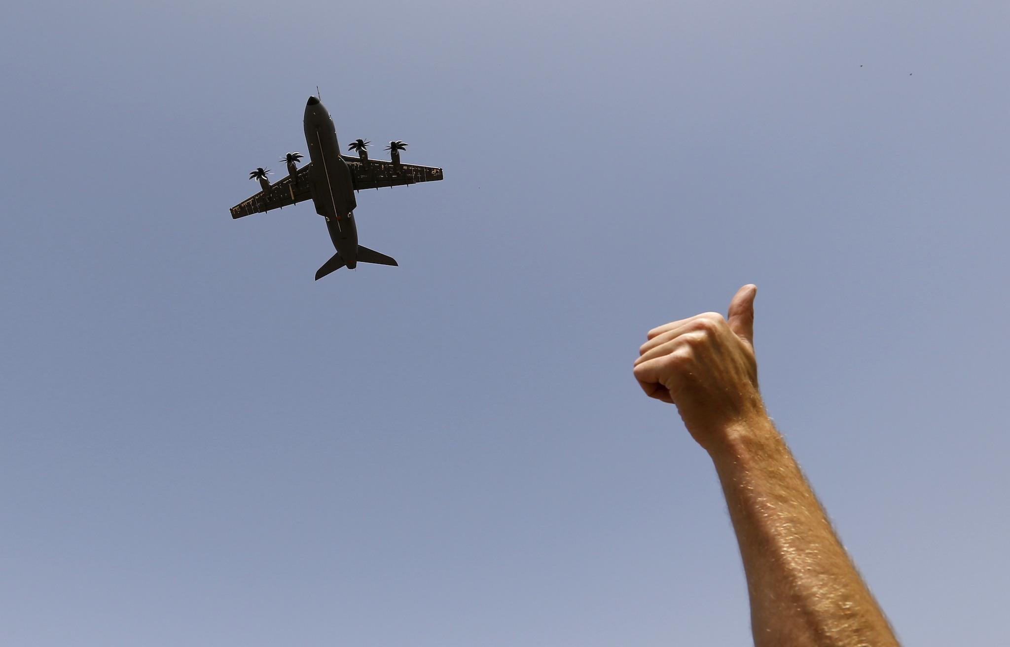 Facebook plane reaction arrives – but it is a secret that
