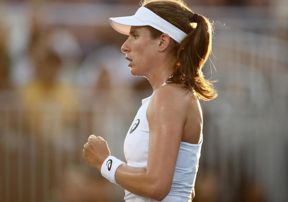 3a395c6fe5bed0 Johanna Konta inflicts worst defeat of Serena Williams  career at Silicon  Valley Classic