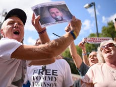 Tommy Robinson freed from prison richer and with increased popularity
