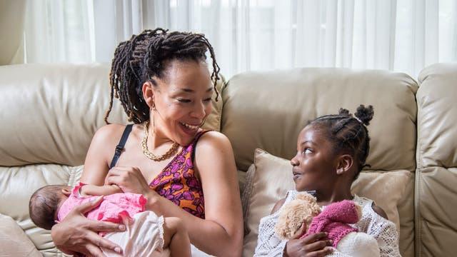 Sammie, Emmanuella and Yideeda – home shoot.
